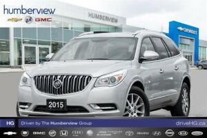 2015 Buick Enclave Leather NAVIGATION|REAR TV|PANO ROOF|LEATHER