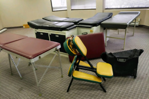 Massage tables and Medical tables