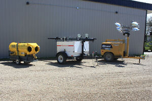 Suprlus Equipment, Light towers and heater