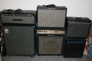 Traynor mark 3 head & ampeg v4 cab