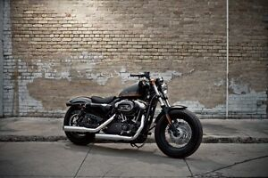 2013 Harley 48 (forty eight) 1200 with low km