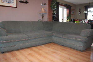Sectional with Pull out Bed