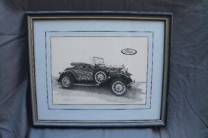 1931 Model A Ford Print by Goran Skalin - Numbered 101/975