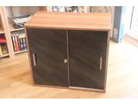 Sliding Door Cupboard/ Filing Cabinet