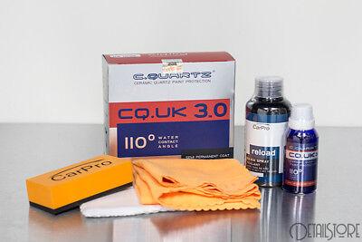 CARPRO CQUARTZ UK EDITION CQUK NEW VER 3.0 CERAMIC COATING 50ML KIT W/ RELOAD