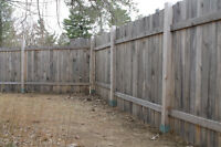 150 Ft wooden fence/shed/deck/gazboo