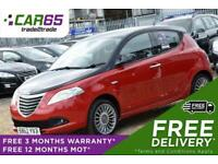 2012 Chrysler Ypsilon 1.2 BLACK AND RED 5d 69 BHP + FREE DELIVERY + FREE 3 MONTH