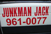 JUNKMAN JACK Ucall Ihaul, Light Trucking & Junk Removal