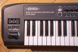 Roland/Edirol PCR-M80 USB MIDI controller (61 note)