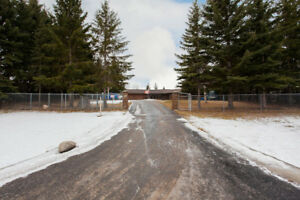 Walkout Bungalow for Sale in Strathcona County in 3 acreage
