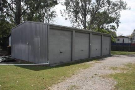 Storage shed (4 bay) Rocklea