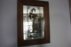 Mirror spring lady very old only asking $30.00