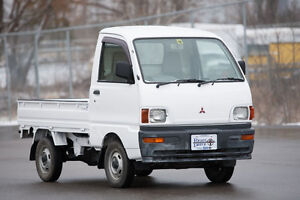 Mitsubishi MiniCab Mini Truck Right Hand Drive plow capable RHD