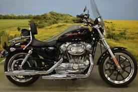 Harley Davidson XL883 2014 ** 745 MILES, TOURING SCREEN, BACK REST **