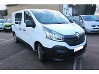 2016 Renault Trafic SL27dCi 90 Business Crew Van Diesel white Manual