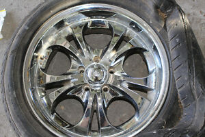 4 RIMS 5x 115 Bolt Pattern