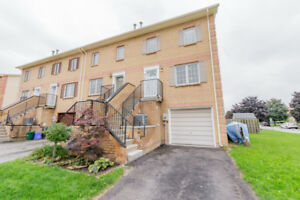 Beautiful Freehold End-Unit Townhouse!
