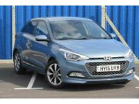 2015 15 HYUNDAI I20 1.4 GDI PREMIUM 5 DOOR MANUAL, FDSH, ONE OWNER, 45K