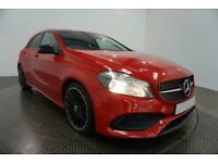 2017 RED MERCEDES A180D 1.5 AMG LINE DIESEL MANUAL CAR FINANCE FR £305 PCM