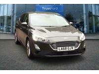 2018 Ford Focus 1.0 EcoBoost 125 Titanium X 5dr with Satellite Navigation, Front