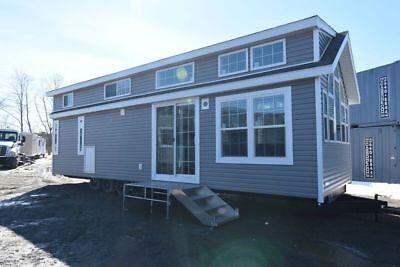 Tiny Home 12 X 38 - Cassone Pre Fab Housing - Trailer - Green Living