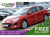 2011 Mazda 3 2.2 D SPORT 5d 150 BHP + FREE DELIVERY + FREE 3 MONTHS WARRANTY + F