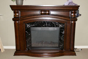 Free Standing Electric Heater Fireplace
