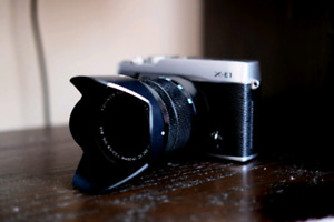 Fujifilm X-E1 + Fujinon XC 16-50mm - nice package!