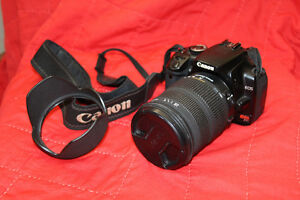 Canon Rebel XTi body with Sigma DC 18-200 zoom lens