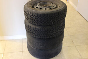 195/60r15 Goodyear Nordic Tires Rims Saturn Cobalt G5 4x100