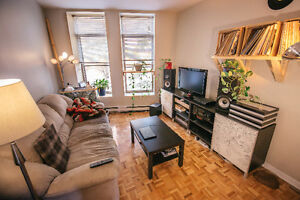 Furnished Room for rent on Atwater near Lionel Groulx metro