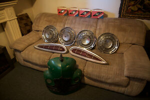 Chevy Impala Tail Lights and Hubcaps and extras!