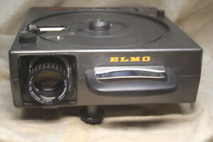 Projecteur Diapositives carousel Elmo Omnigraphic 301AF