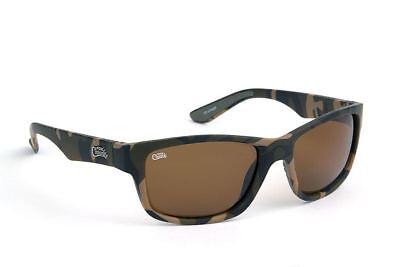 Fox Chunk Brillen Camo - Braune Linsen / Fischen Polarisiert Sonnenbrille
