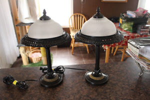 Matching  Pair - Table Lamps