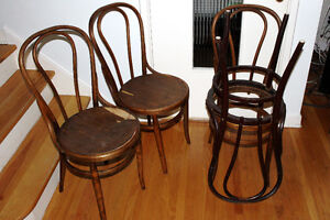 Lot de 4 Chaises «bistro» West Island Greater Montréal image 1