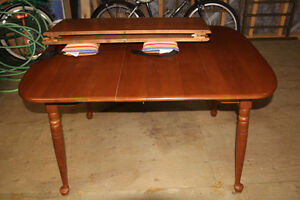 Vilas Maple Table - Size 3 ft by 6 ft.