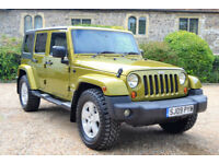 Jeep Wrangler 2.8 CRD Sahara 45K MILES, FULL S/HISTORY, JULY MOT, JUST SERVCED