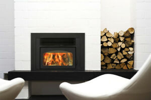 """""""Volcano Plus"""" Fireplace Insert By Supreme - Safeguard Stoves"""