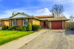 52 ROYAL OAK DRIVE, WELLAND  – OPEN HOUSE SUNDAY 2PM TO 4PM