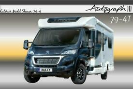 Bailey Autograph III 79-4T, NEW, 2020, 4 Berth, Motorhome