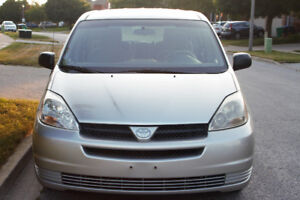 2005 Toyota Sienna CE 2WD Automatic for PARTS!! Silver in color!