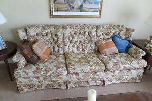 Living room furniture - $100 for sofa & chair