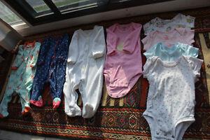 Baby girl cloths, Carter size 3 months