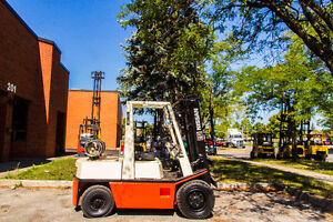 Nissan Forklift 6000Lb Capacity indoor and outdoor