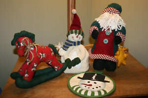 A.  Rustic/Country Decorations- Christmas- See photos NEW PRICES