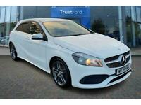 2016 Mercedes-Benz A Class A180d AMG Line 5dr - PART LEATHER UPHOLSTERY, REVERSI