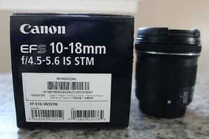 Canon Wide Angle 18-55 lens