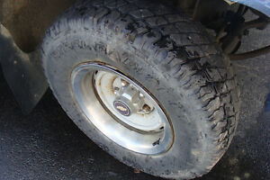 For Sale 4 Tires with Steel rims