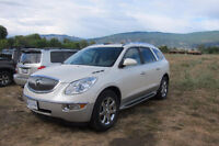 2009 Buick Enclave CXL white SUV, Crossover